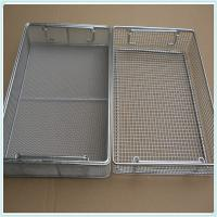 Quality Supply Medical 304 316 Stainless Steel Disinfecting Metal Baskets, disinfection medical basket for sale