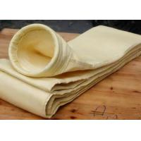Quality PTFE , Nylon , Glass Dust Filter Bags Washable Nonwoven Filter Media for sale