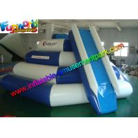 China Funny Game Inflatable Pool Toys 0.9mm PVC Climbing Slide For Sea on sale