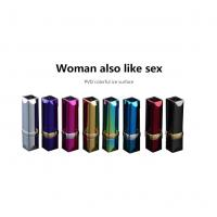 Quality Metal Windproof USB Rechargeable Lighter Without Flame , Eight Colors for sale