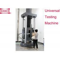 Buy Static Hydraulic Universal Testing Machine , Tensile Strength Apparatus For Lab at wholesale prices