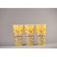 Quality Personalized Custom Printed Popcorn Buckets Food Grade For Cinema for sale