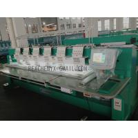 Buy cheap Six Head Flat Embroidery Machine/Multi-Head Computerized Flat Embroidery Machine from wholesalers