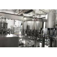 Quality Tea Drink Hot Beverage Filling Line Automatic 3 In 1 Monoblock Filling Machine for sale