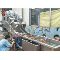 Quality 3 KW Power Vegetable Processor Machine Blueberry Washing Machine 800 Kg/H Capacity for sale
