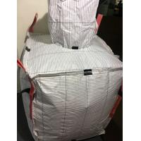 600KG Four - Panel FIBC Jumbo Bag Anti Static With Discharge Spout Bottom