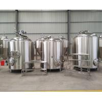 Quality 500 liter micro brewing equipment, gas heating berewhouse for sale for sale