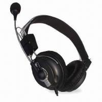 Quality Wired Computer Headset with Mic and High Stereo Sound for sale