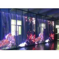 Quality Transparent LED Curtain Display Screen for Outdoor Rental Stage Events Video Decoration for sale