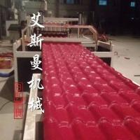 Quality Replace ceramic tile - PVC Glazed Tile Roof Roll Forming Machine for Plastic Colorful Roofing for sale