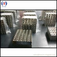 Quality Neodymium block magnets with taper hole for sale