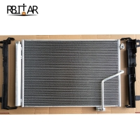 Quality 2045000654 2045000254 Car Coolant Radiator Condenser For Benz W204 for sale
