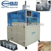Quality Automatic Clear Cylinder Tube Curling Machine For PVC/PET/APET Cylinder for sale