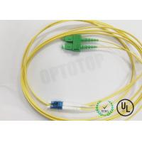 Quality Single - Mode SC / APC LC / UPC Duplex Patch Cord 2.0mm 3m Fast Delivery for sale