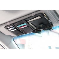 Quality car accessories Sunshade car front baffle storage hanging bag for sale