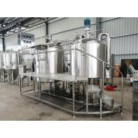 Quality 500l 600l 800l 1000l Turn-key beer brewing equipment copper brew kettle for pub restaurant for sale