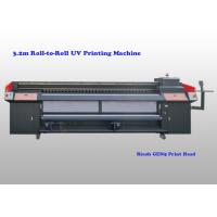 Quality 3200 Mm Wide Roll To Roll Uv Printing Machine For Advertisement And Decoration for sale
