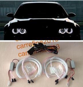 Quality SMD LED 42 angel eyes for BMW E46 projector/E36/E38/E39 White for sale