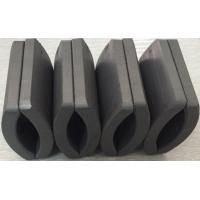 Customized Permanent Big Ferrite Arc Magnet For Air Pump 52.12*50.18*7.27 mm for sale
