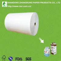 Quality PE coated gable top liquid packaging board for sale