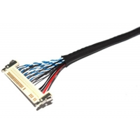 Quality UL1571 28AWG 1.25mm DF13-40P To 1.25mm DF19-20P LVDS Cable for sale