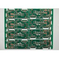 Quality 0.25mm FR4 Green Solder Mask Multilayer PCB Manufacturing Process OSP White Silkscreen for sale