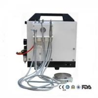 Quality Portable Dental Unit with built-in air compressor for sale