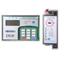 Quality Transparent Din Rail Mounted Kwh Meter 800g Single Phase Electric Meter for sale