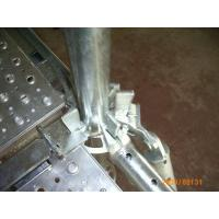 Quality Hot dipped Galvanized Ring Lock Durable Steel scaffolding System for sale