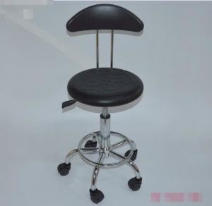 China Adjustable Anti Static ESD Chair PU Foam Anti static bar chair on sale
