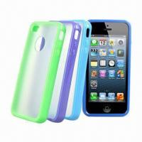 Quality Duo-color Cases for iPhone, Various Bumper Colors Available for sale