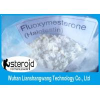 Quality White Testosterone Anabolic Steroid  Powder Halotestin Fluoxymesterone CAS 76-43-7 for Breast Cancer Treatment for sale