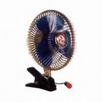 Quality Car fan, chrome-plated base for sale