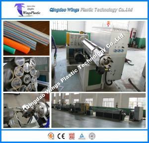Quality PVC Transport Garden Hose Making Machinery PVC Flexible Garden Pipe Machine for sale