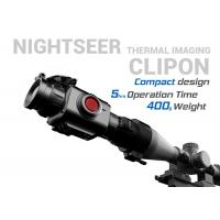 China Compact Thermal Clip On , Lightweight 5 Hours Standby Day Night Thermal Scope on sale