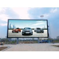 Quality 1R1G1B 25W Led Outdoor Advertising Screens Constant Drive Low Power Consumption P5 for sale
