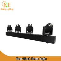 Quality 2016 New Bar White or RGBW Stage Light 4 heads 4pcs 10w led beam moving head light for sale