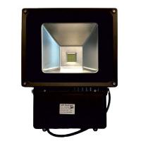 Quality High power Led Floodlight Fixtures 100W , 85 - 264V ac ,  Warm White for Billboards for sale