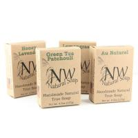 Natural Soap Small Foldable Kraft Paper Packaging Boxes Single Color Printing