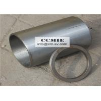 Steel XCMG Spare Parts , Engine Cylinder Sleeves with Adjusting Ring