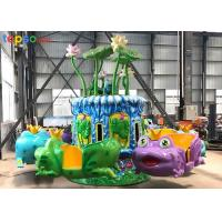 Quality Kids Amusement Park Ride 12 Seat Indoor Playground Frog Jumping Rides for sale