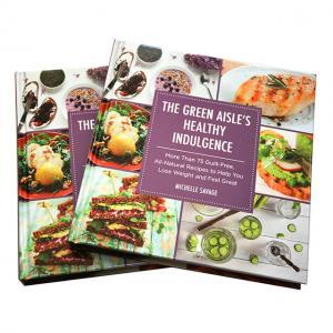 China cook books printing company on sale