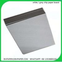 China Alibaba trade assurance grey chip board 1.5mm thick paper on sale