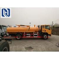 Quality Self Dumping Sanitation Garbage Truck / Sewage Suction Truck 6x4 336hp For City Cleaning LHD or RHD for sale