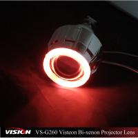 2.5 Inch Vision Auto Retrofit Headlight Hid Projector Lens CCFL Angel Eyes with