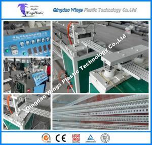 Quality Plastic PVC angle and panel corner bead Making Machine for sale