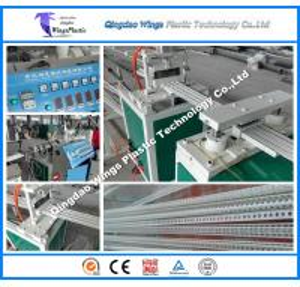 Quality PVC Corner Beads Manufacturing Machine / PVC Corner Head Extrusion Machine for sale