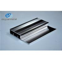 6463-T5 Polishing Aluminum Extrusion Profiles Products With Silver Color