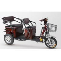 Quality Waterproof Motor 2 Seat Electric Tricycle Adult Motorized Tricycle For Passenger for sale