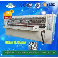 Quality Zero Line Pressing Type Electric Adjust Thin Blade Slitter Scorer for sale